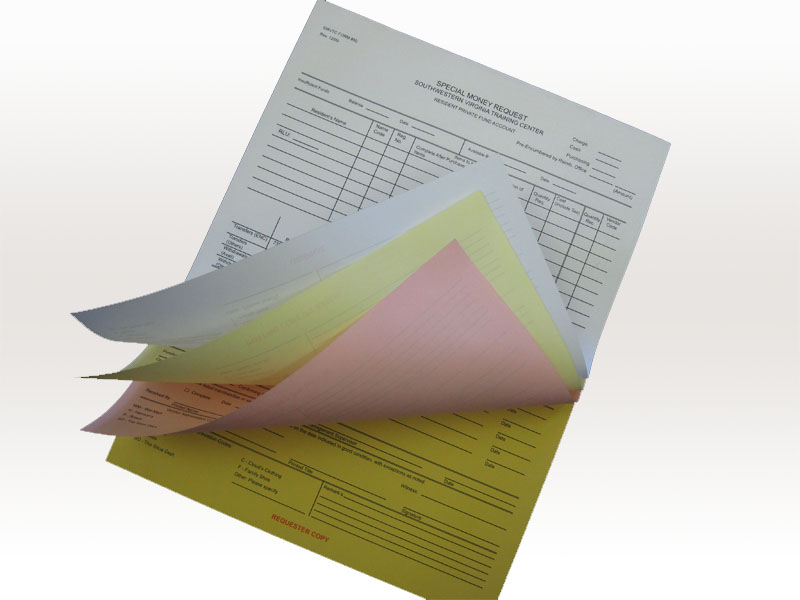 Carbonless Forms Printing Wholesale - PrintRoo Australia
