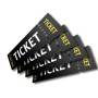 Perforated Event Tickets