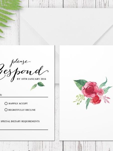 Response Cards Printing