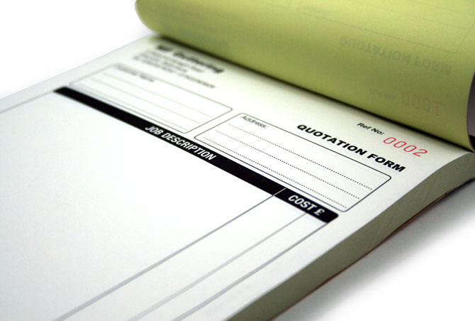 Carbonless Forms Printing Wholesale PrintRoo Australia - Carbon invoice book printing