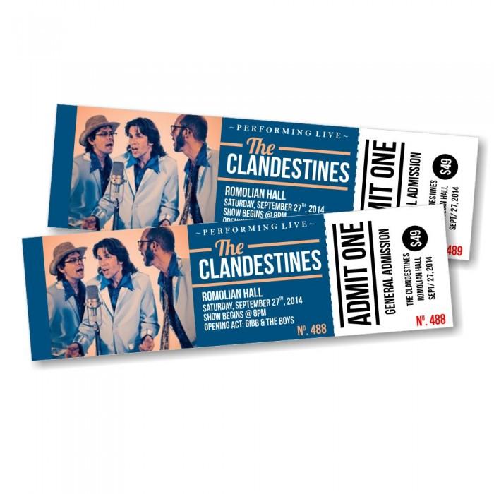 Event Tickets Printing Cheap Printroo Australia