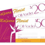 Gift Vouchers printing Australia