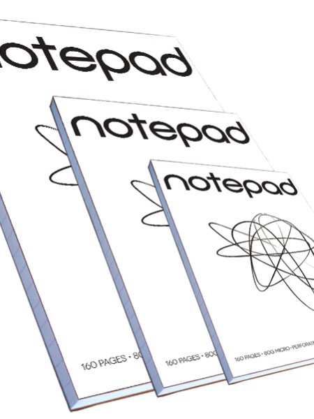 cheap custom notepads printing online printroo australia