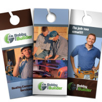 Full Colour Door Hangers Printing Australia