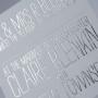 Fance Foil Stamping Wedding Invitation Australia