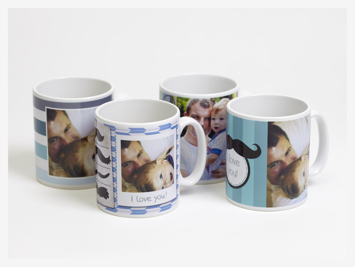 custom coffee Personalize your coffee mug with a photo, logo, or quote in moments with vistaprint mugs come in full white, or in color matching handle and interior.